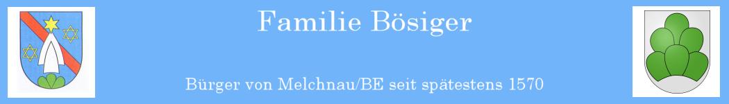 Familie Bösiger